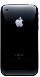 Apple iPhone 3G 8GB Black back