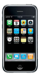 Apple iPhone 3G 8GB Black front