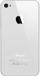 Apple iPhone 4 8GB White back