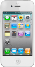 Apple iPhone 4 8GB White front