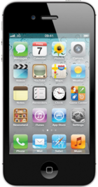 Apple iPhone 4S 8GB Black front