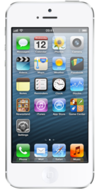 Apple iPhone 5 32GB White front
