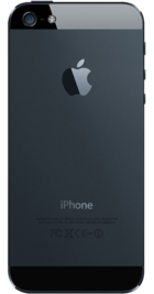 Apple iPhone 5 64GB Black back
