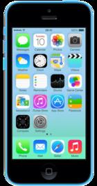 Apple iPhone 5c 16GB Blue front