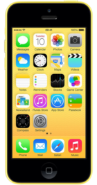 Apple iPhone 5c 8GB Yellow front