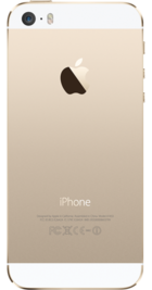 Apple iPhone 5s 32GB Gold back
