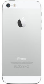 Apple iPhone 5s 16GB Silver back