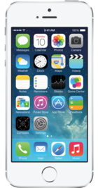 Apple iPhone 5s 16GB Silver front