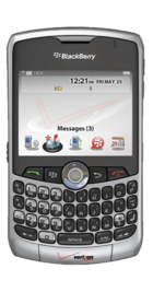 BlackBerry Curve 8310 front