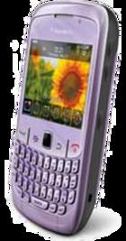 BlackBerry Curve 8520 Pink side