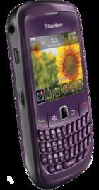 BlackBerry Curve 8520 Purple back