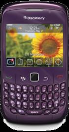 BlackBerry Curve 8520 Purple front