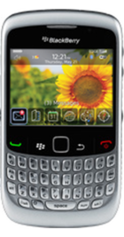 BlackBerry Curve 8520 Silver front