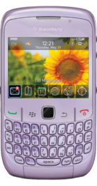 BlackBerry Curve 8520 Violet front