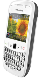 BlackBerry Curve 8520 White back