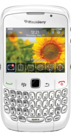 BlackBerry Curve 8520 White front
