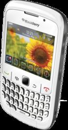 BlackBerry Curve 8520 White side