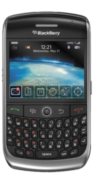 BlackBerry Curve 8900 front