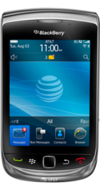 BlackBerry Torch front