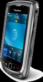 BlackBerry Torch side
