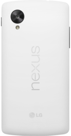 Google Nexus 5 White back