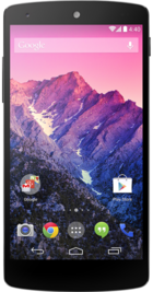 Google Nexus 5 White front