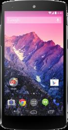 Google Nexus 5 front
