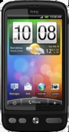 HTC Desire Black front