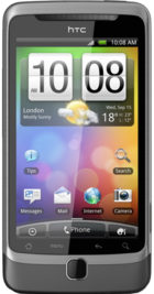 HTC Desire Z front