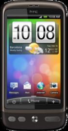 HTC Desire front