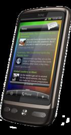 HTC Desire side