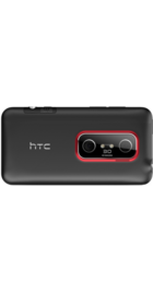 HTC Evo 3D back