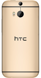 HTC One M8 Gold back