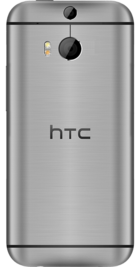 HTC One M8 Grey back