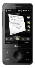 HTC Touch Pro front