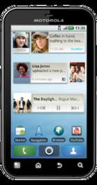 Motorola Defy front