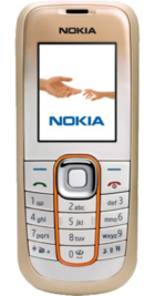 Nokia 2600 Classic Gold front