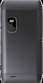 Nokia E7 Black back