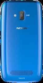 Nokia Lumia 610 Blue back