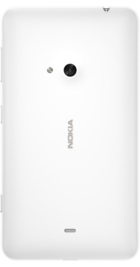 Nokia Lumia 625 White back