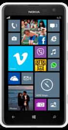 Nokia Lumia 625 White front