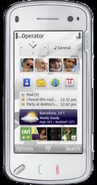 Nokia N97 White front