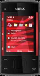 Nokia X3 front