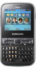 Samsung Chat front
