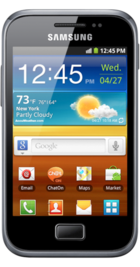 Samsung Galaxy Ace Plus front