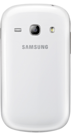 Samsung Galaxy Fame White back