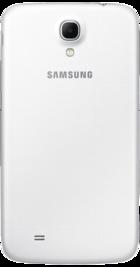 Samsung Galaxy Mega White back