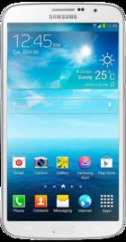 Samsung Galaxy Mega White front