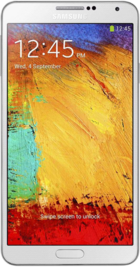 Samsung Galaxy Note 3 White front