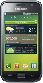 Samsung Galaxy S i9000 front